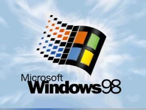 Windows98 Startbildschirm